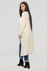 Only Me Cardigan - Oatmeal
