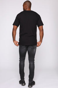 Stolen Whip Short Sleeve Tee - Black/combo Angle 6