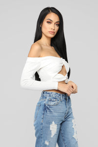 It's Knot Me Top - Ivory