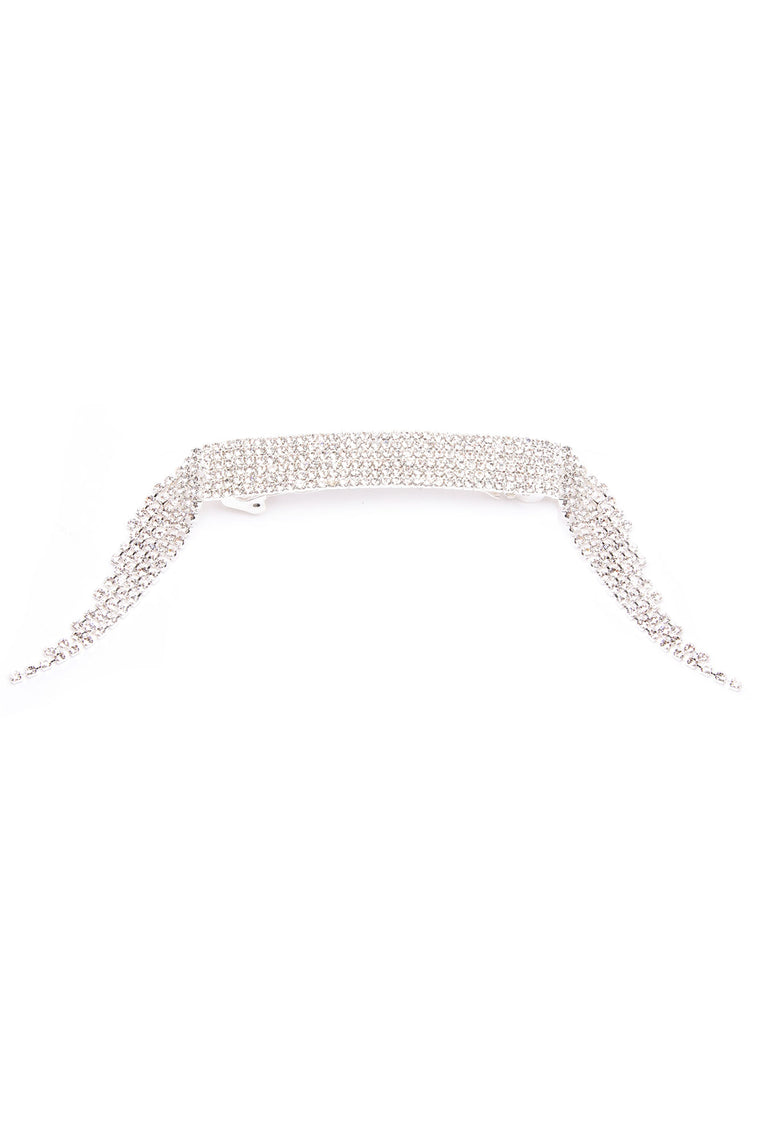 Bling It On Hair Clip - Silver