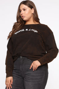 Homie And Lover Tunic Top - Black/combo Angle 8