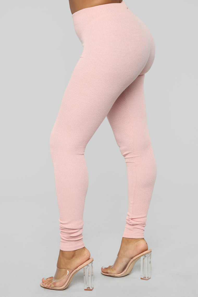 Soft Feelings Sweater Pant Set - Pink