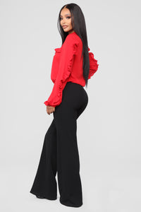 Celina Top - Red