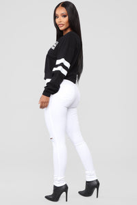 LA To Paris Sweatshirt - Black