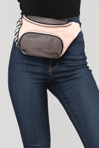 Never Off Beat Fanny Pack - Blush