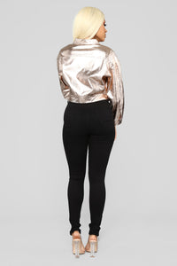 Rose All Day Jacket - Rose Gold