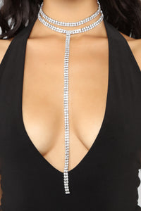 Romeo And Lariat Choker - Silver