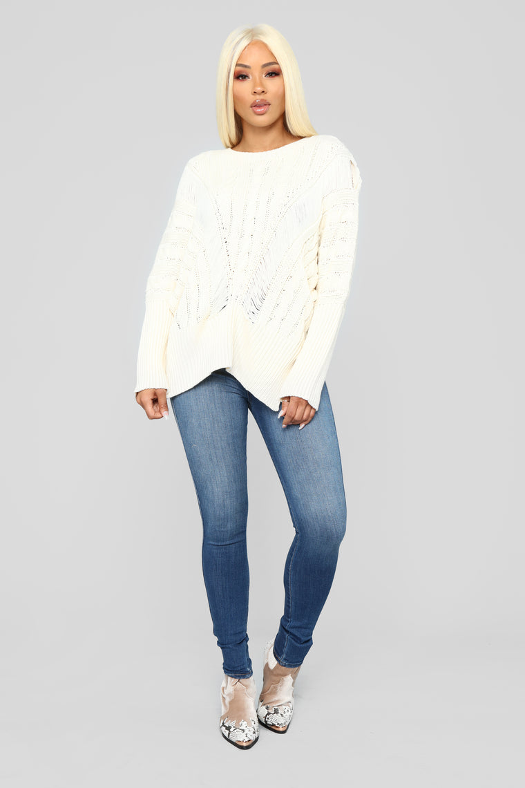 Need It In My Life Sweater - Ivory