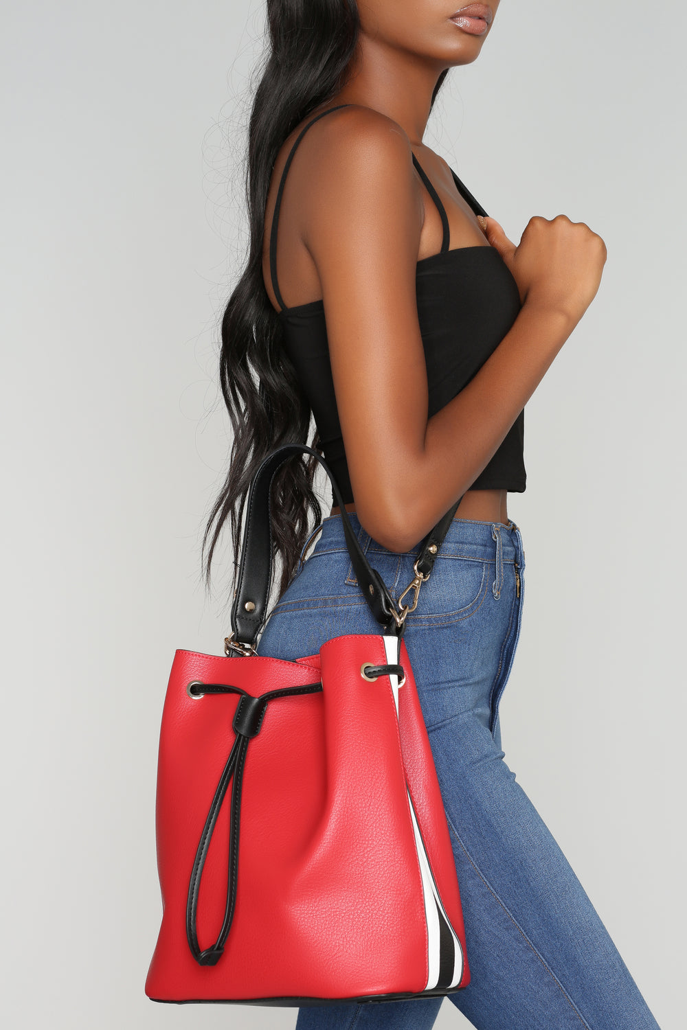 Speedy Racer Bucket Bag - Red