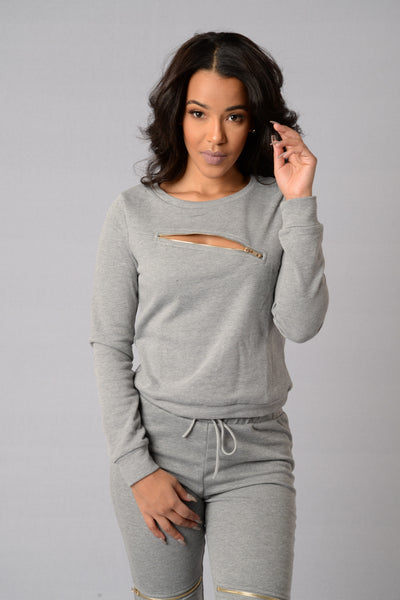 Radioactive Top - Grey