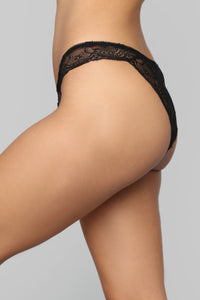 The Cameron Panty - Black