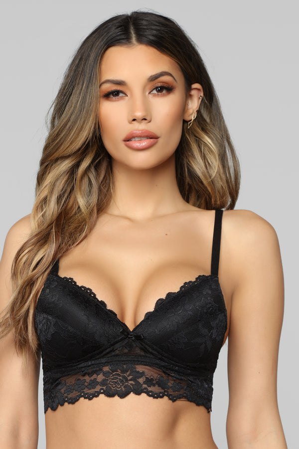 2f75b854dc4 Wow Worthy 2 Pack Bralettes - Black Combo
