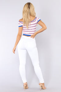 Miley Skinny Jeans - White