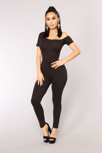 No Doubt Jumpsuit - Black