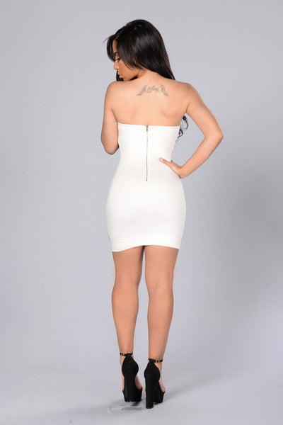 Revelation Dress - White