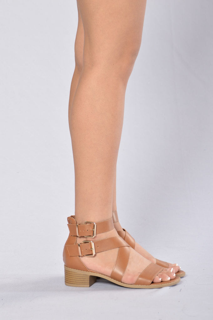 Poise Sandal - Whiskey