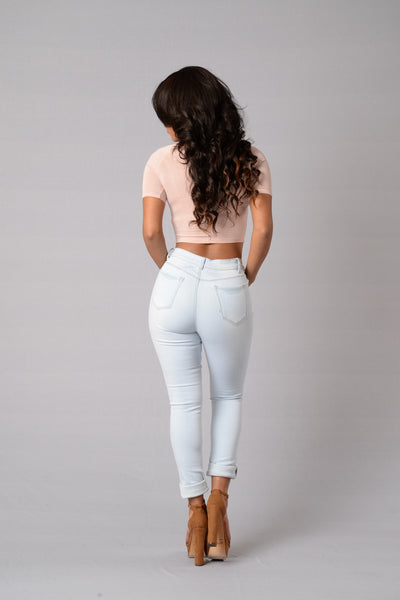 Crawford High Rise Jeans - Super Light