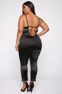 Feelings With You Jumpsuit - Black Angle 10