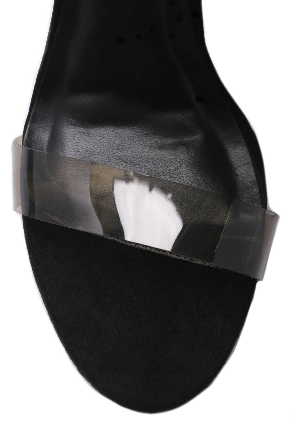 Rosy Clear Heel - Black