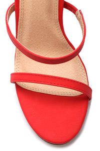 No Obligation Heel - Red