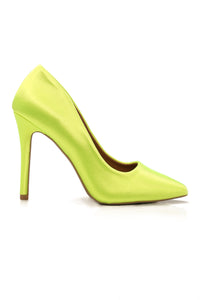 Stole The Show Pump - Yellow