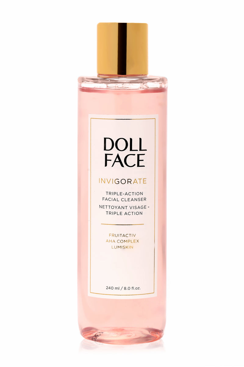 Doll Face Triple Action Facial Cleanser - Invigorate