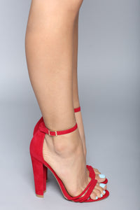 Keep It Honest Heel - Red
