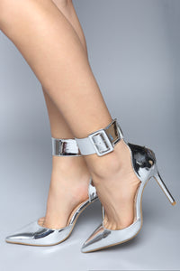 So Pumped Heel - Silver