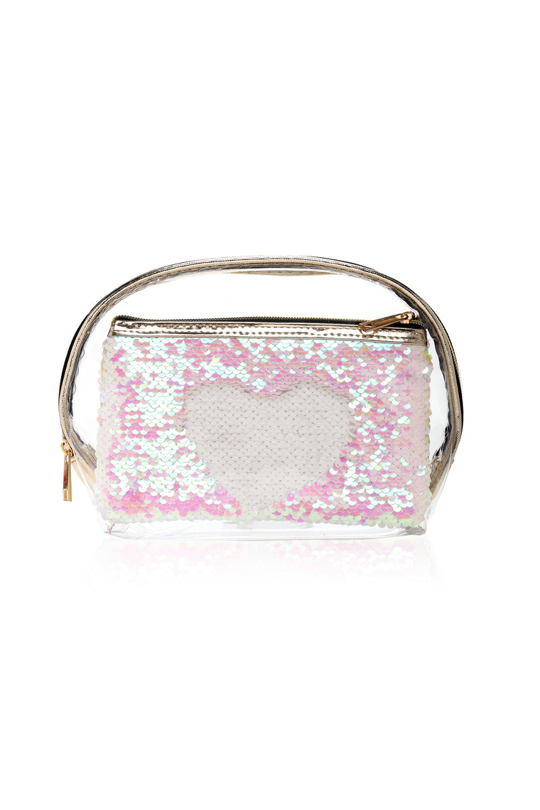 It Takes Two Beauty Bag - Pink/Combo