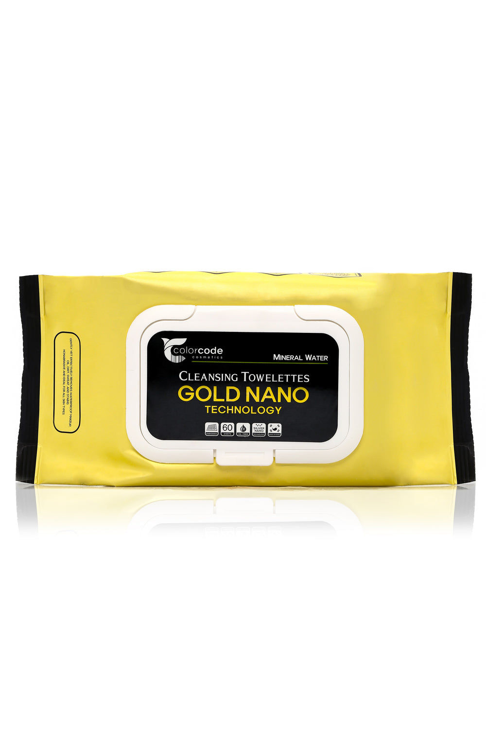 Gold Nano Makeup Remover Wipes - Gold