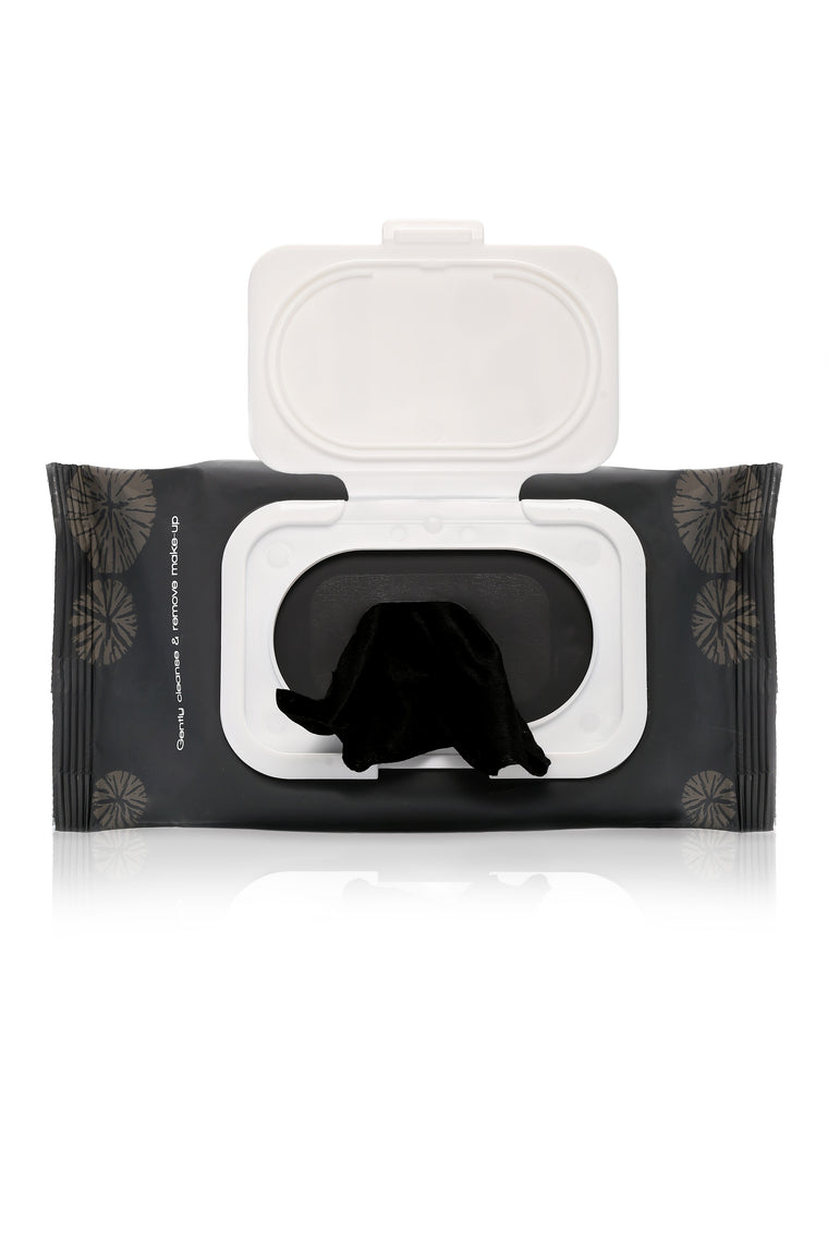 Cala Charcoal Makeup Remover Wipes - Charcoal