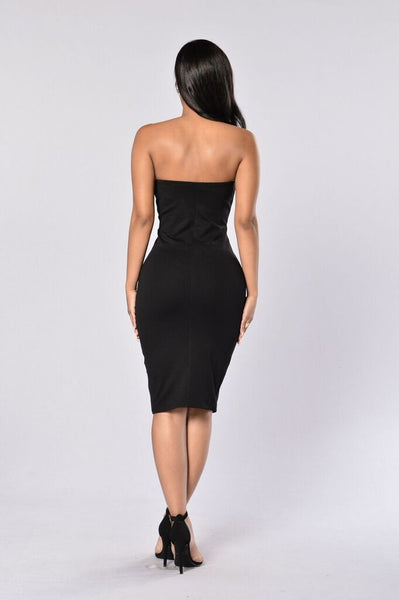 Nahla Dress - Black