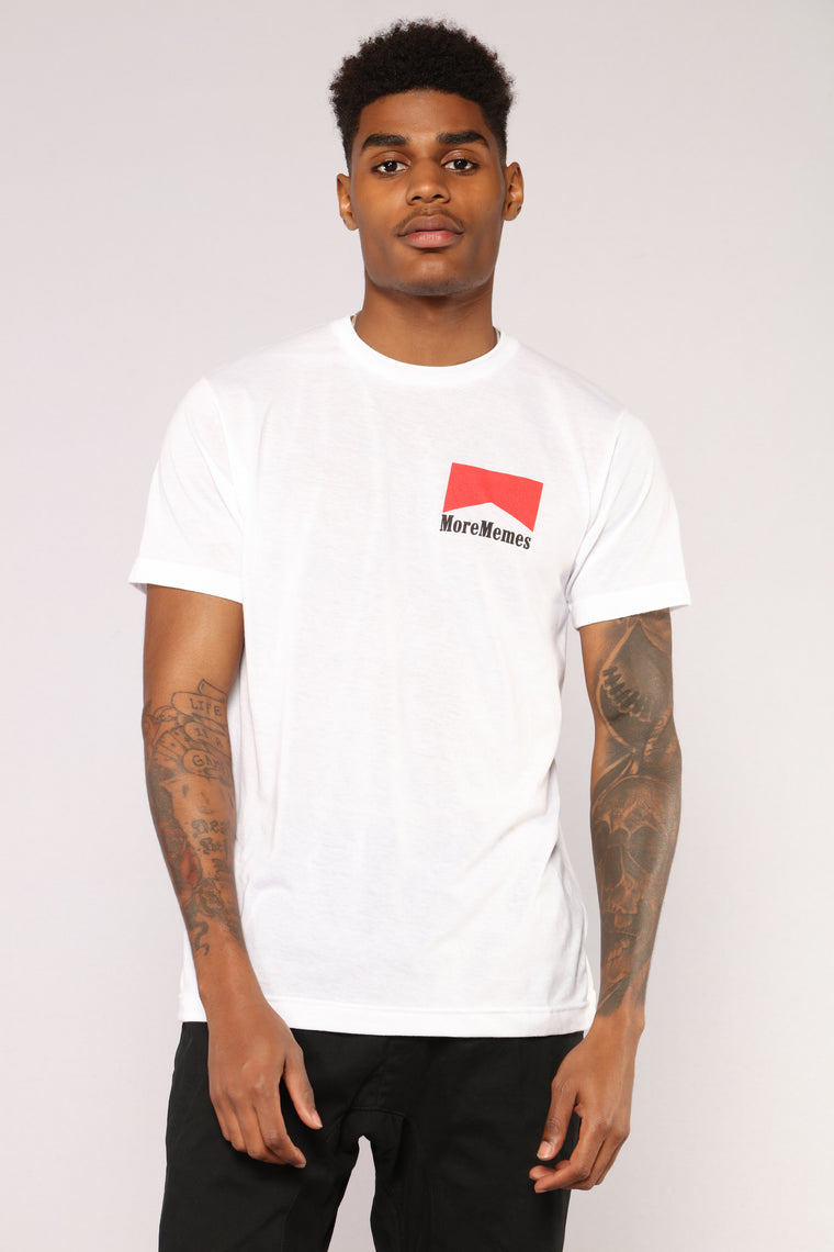 Pack Meme Short Sleeve Tee - White