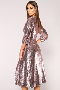Show Stopper Sequin Duster - Pink