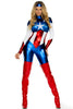 Star Spangled Hero Costume - Blue