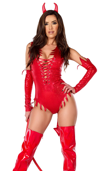 Sinner Costume - Red