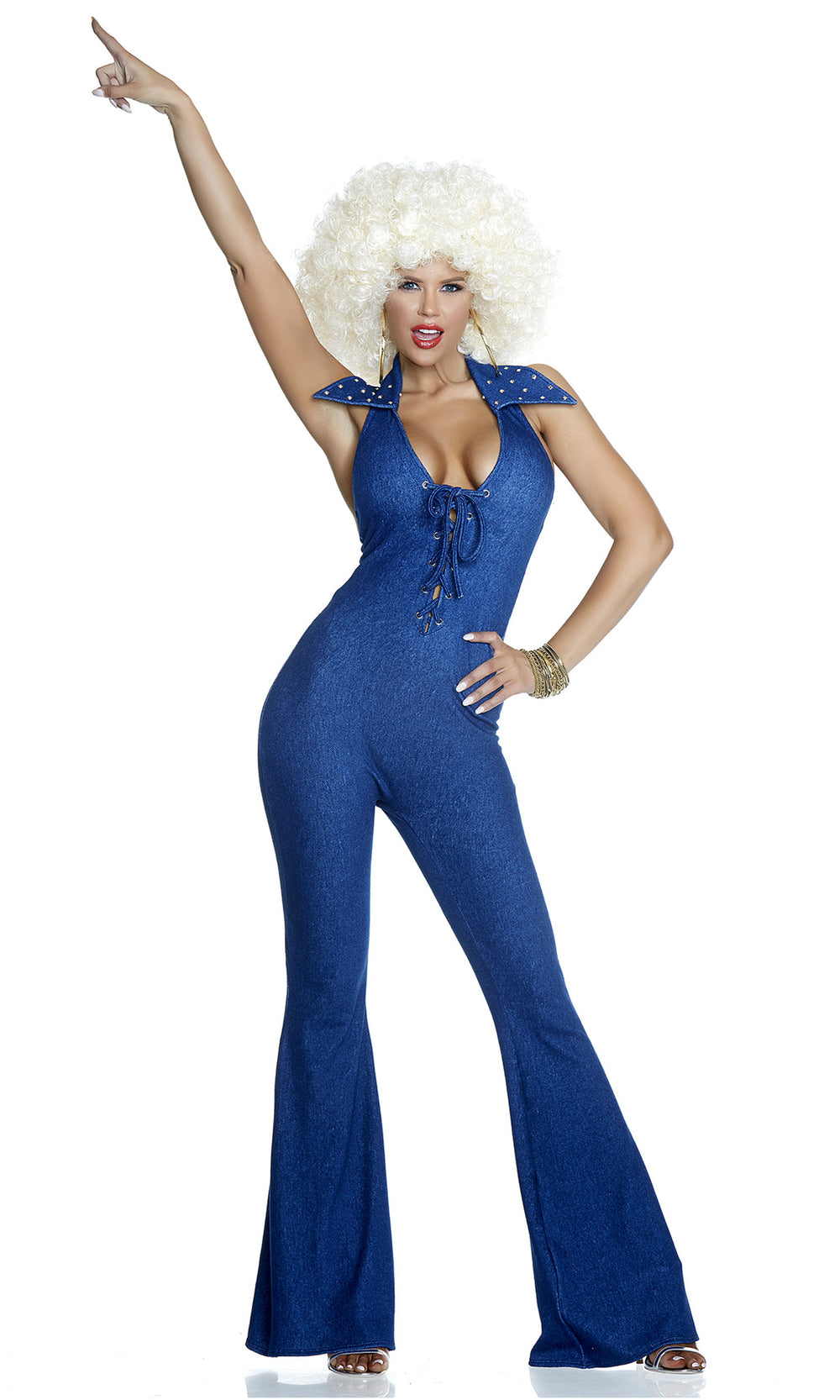 Got the 70s Fever Costume - Denim Blue