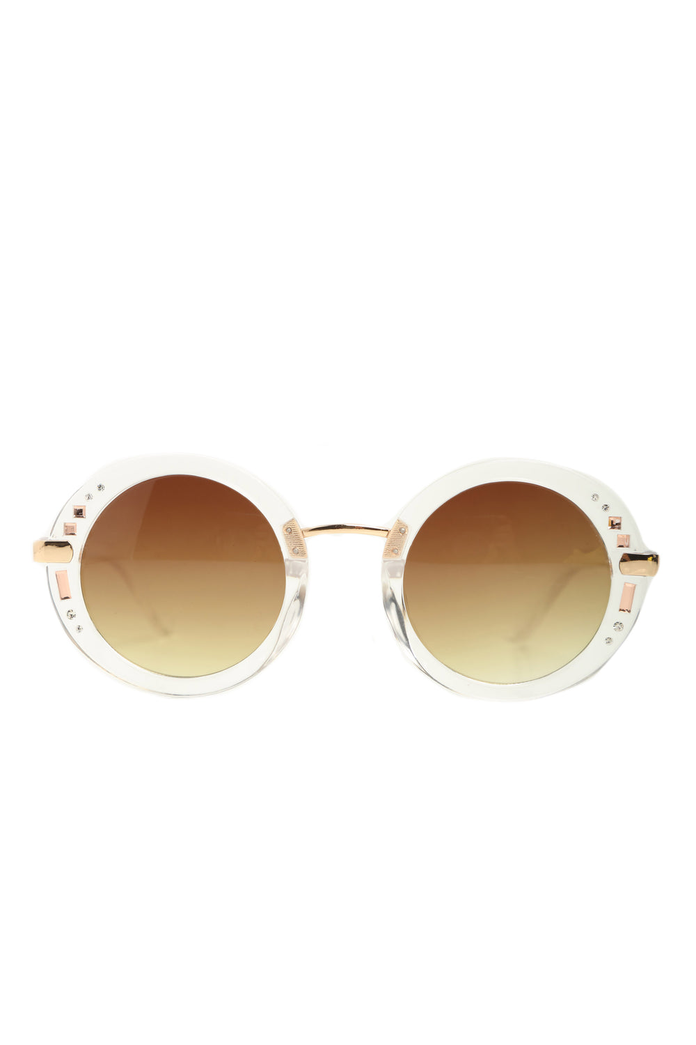 The Swinger Sunglasses - Clear