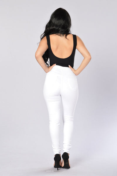 Tiara Bodysuit - Black