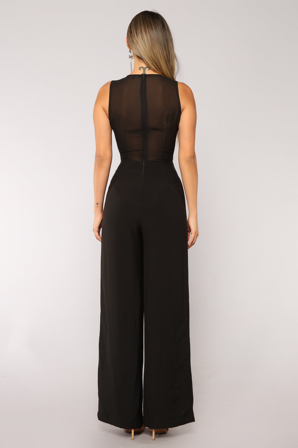 Among The Stars Jumpsuit - Black