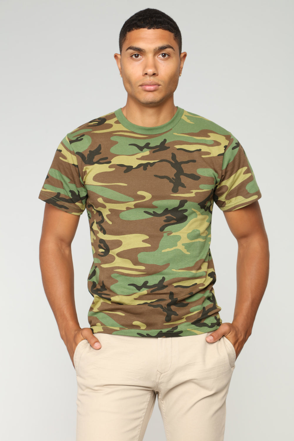 Tucker Short Sleeve Tee - Camo