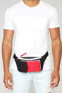 Own Fanny Pack - Black/Red