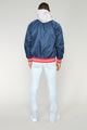 Torre Casual Jacket - Navy/Red