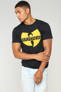 Wu Tang Short Sleeve Tee - Black Angle 1