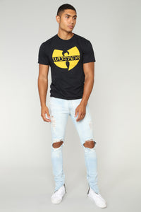 Wu Tang Short Sleeve Tee - Black Angle 2