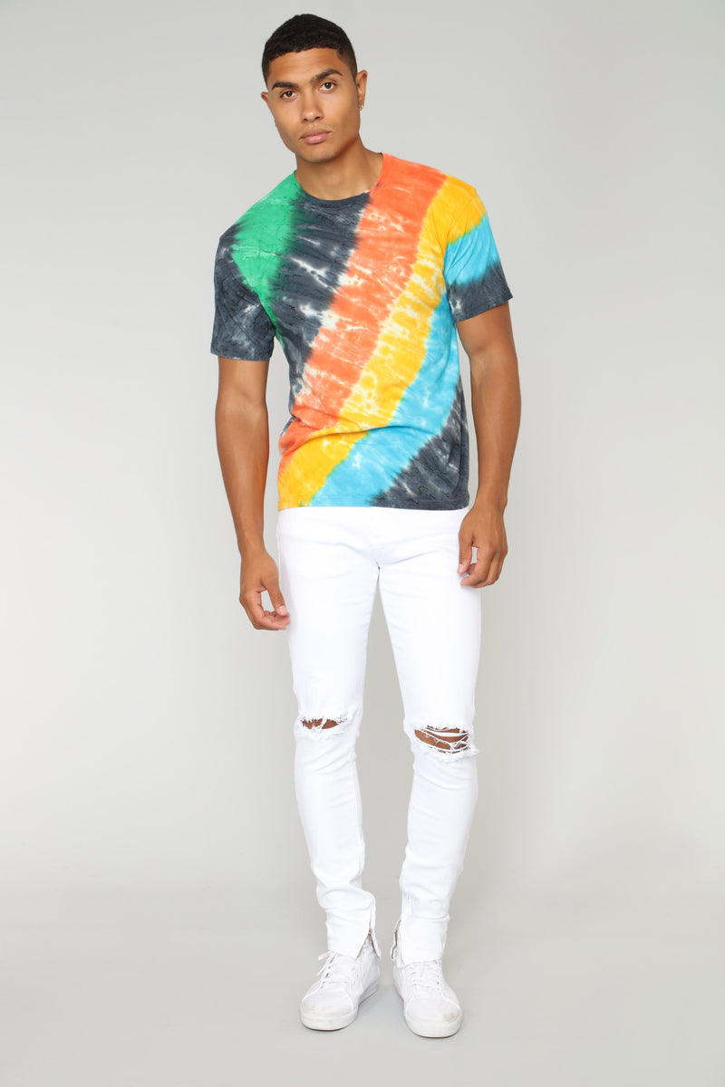 Rainbow Short Sleeve Tee - MultiColor