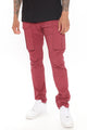 Summer Games Cargo Pants - Burgundy