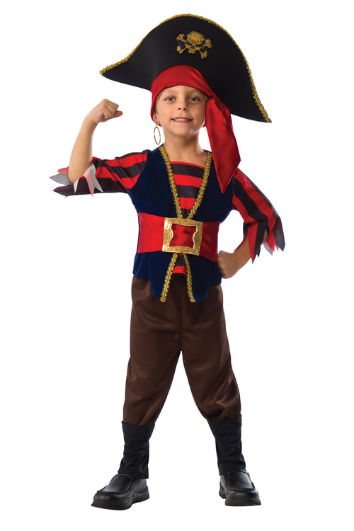 Ship Mate Pirate Boys Costume - Red Combo 0a7348c03c