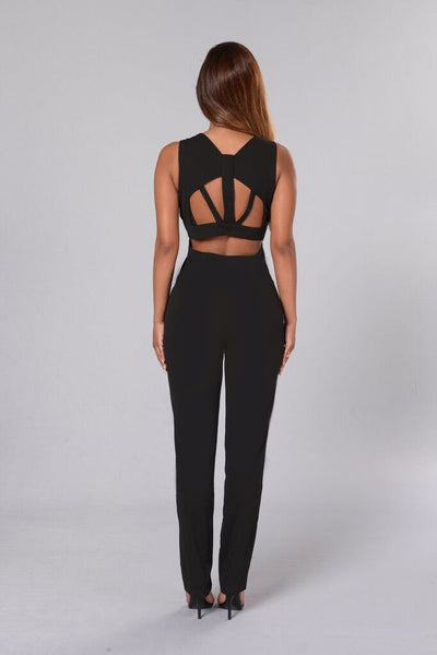 Bad as Ever Jumpsuit - Black