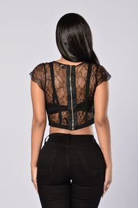 Triomphe Top - Black
